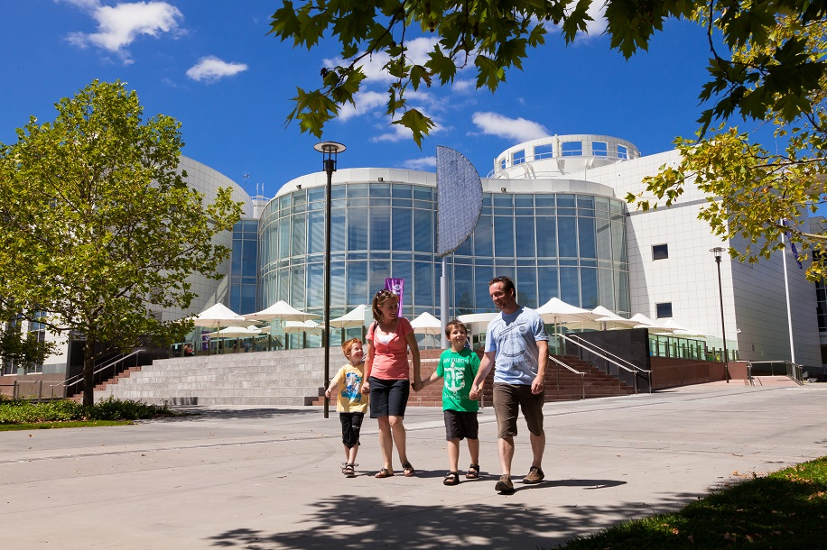Questacon / The National Science and Technology Centre,Canberra