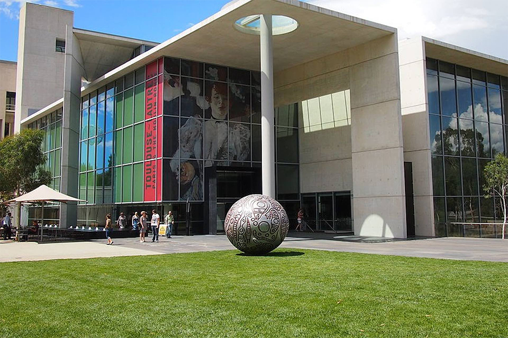 National Gallery of Australia Culture in Canberra near Crowne Plaza Canberra