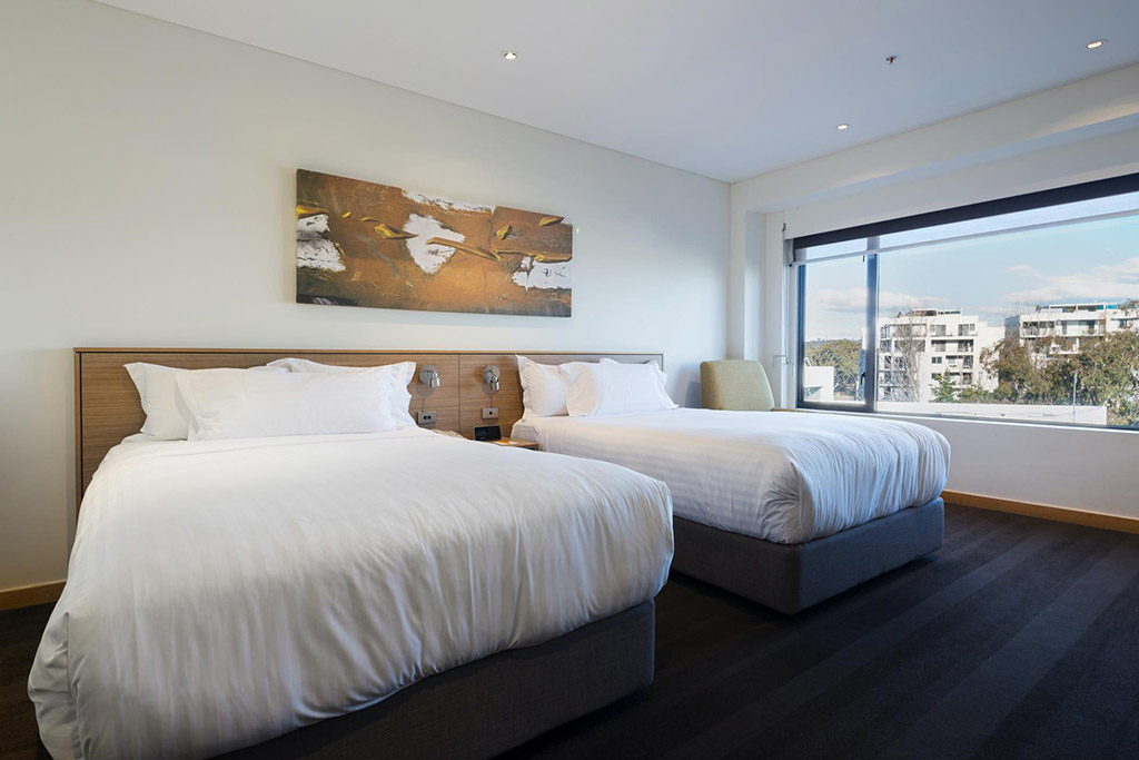 Photograph of Deluxe Scenic View Room at Crowne Plaza Canberra