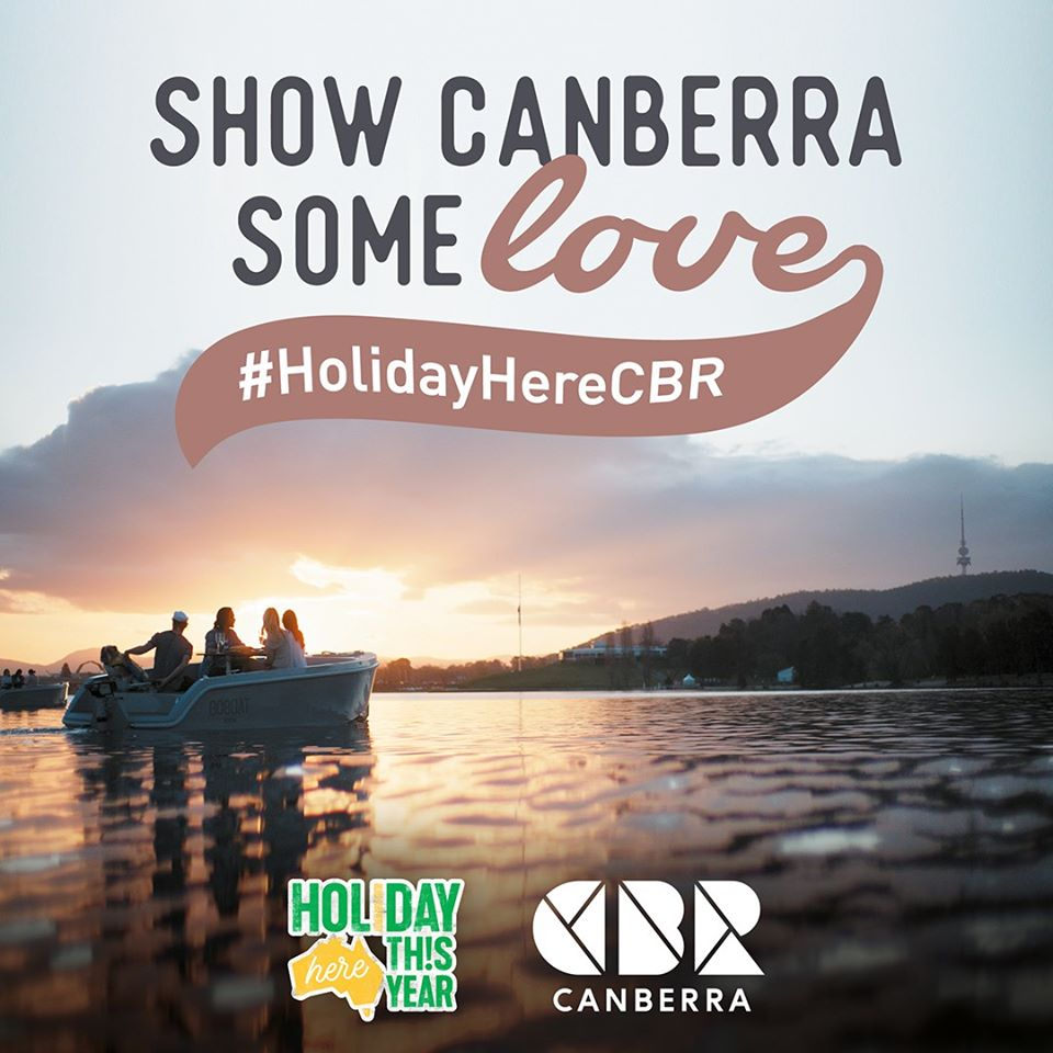 Visit Canberra │ Holiday Here Canberra │ Marketing Campaign 2020