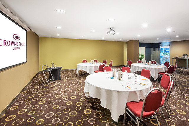Aquilla Meeting Room at Crowne Plaza Canberra