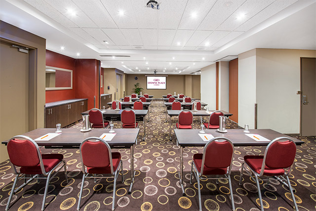 The Crossing Meeting Room at Crowne Plaza Canberra