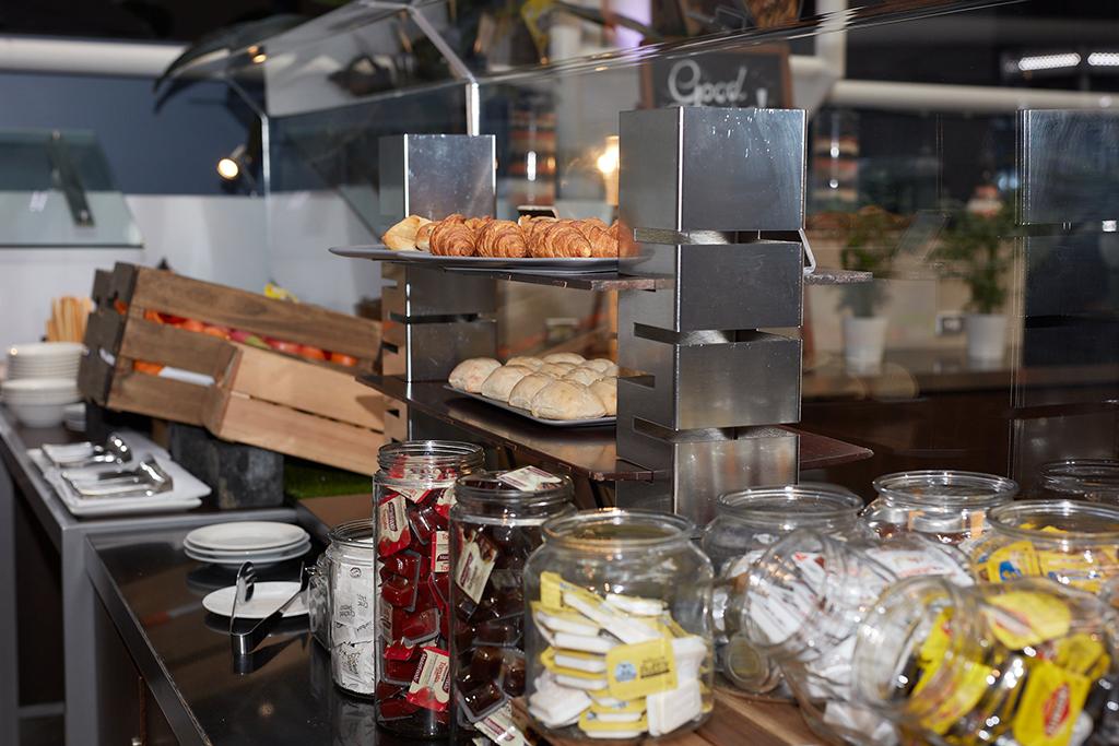 Breakfast display at Redsalt Restaurant, Canberra
