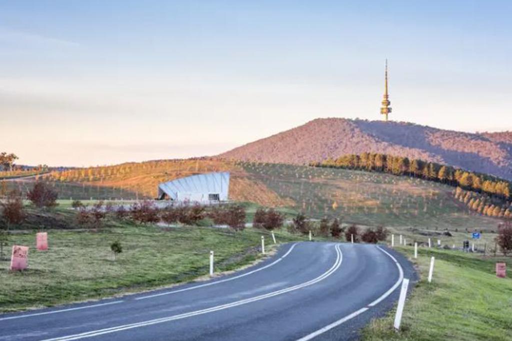 Family orienteering, National Arboretum, Canberra