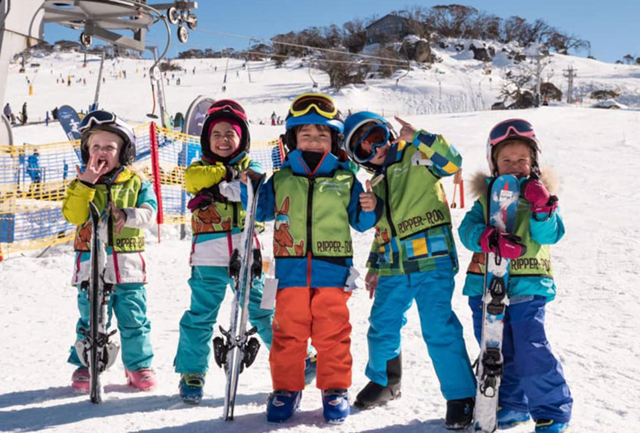 Children at Perisher Resort