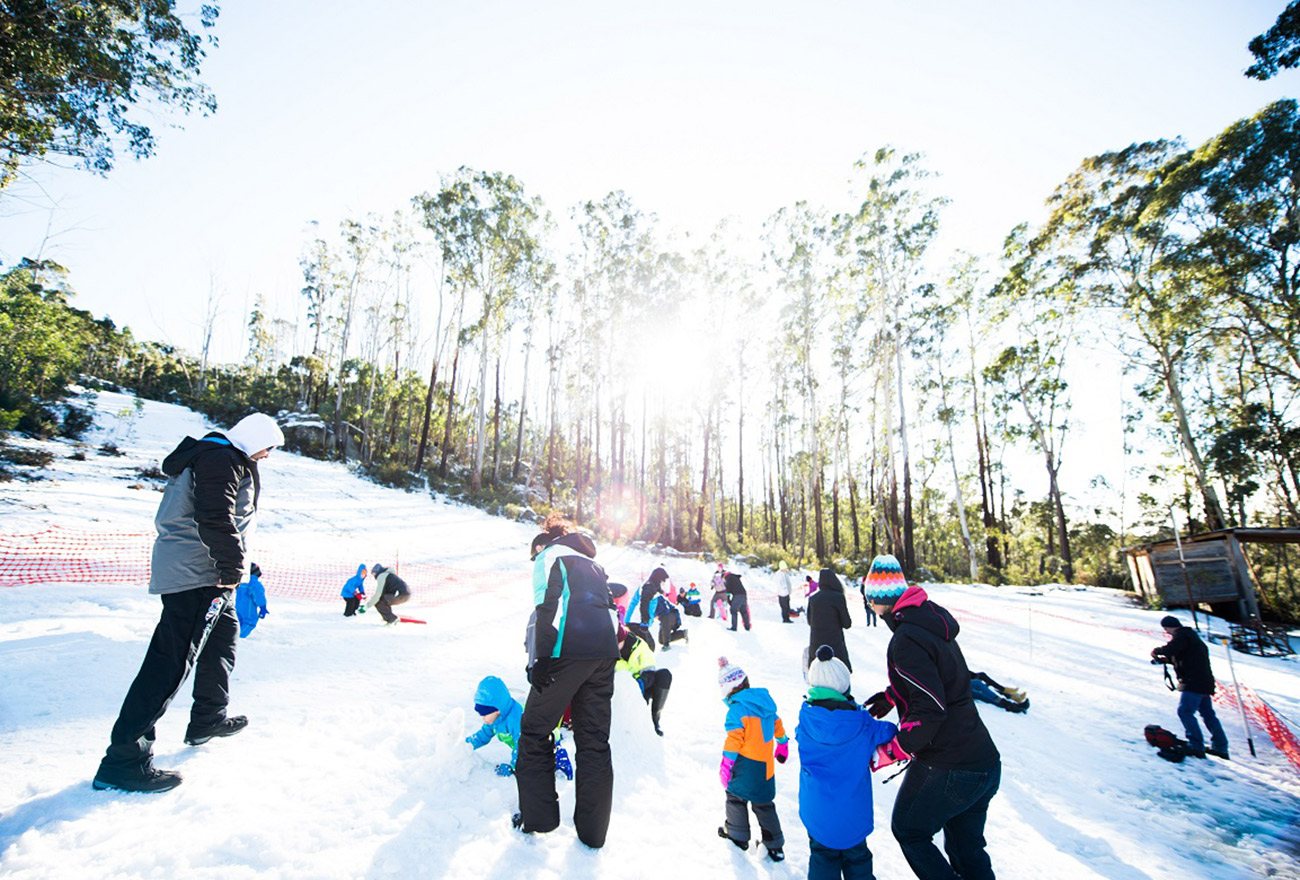 Children playing at Corin Forest Mountain Resort